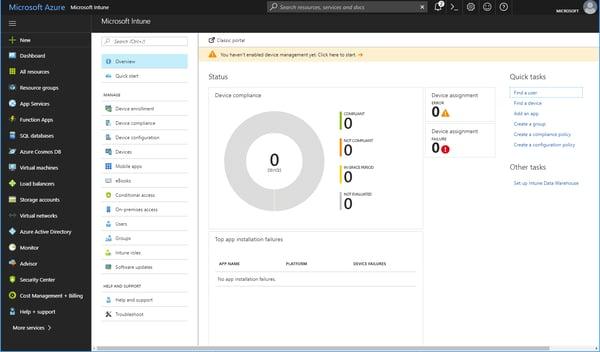 Azure Portal Workloads