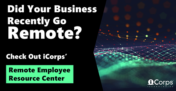 [RESOURCE CENTER] iCorps Remote Employee Resource Center